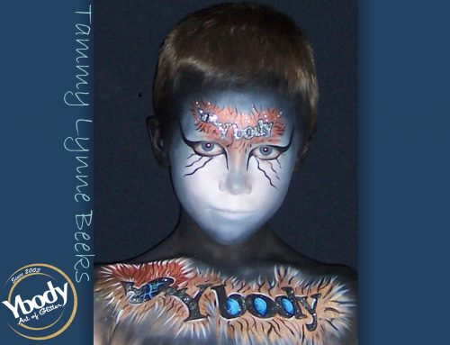 Artists – Credits for body art of glitter 4