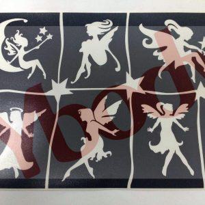 6 in 1 A5 Theme Stencils
